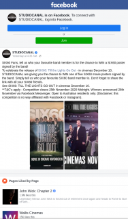 Studiocanal – Win a Six60 Poster Signed By The Band