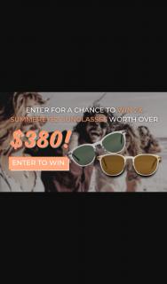 SUMMEREYEZ – Win 2x Summereyez Polarized Sunglasses of Your Choice (prize valued at $388)