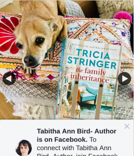 Tabitha Ann Bird Author – Win Without Further Delay this Week You Can Win a Copy of Tricia Stringer's New Book The Family Inheritance