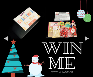 The Aussie Fizz Factory – Win a Taff Kids Christmas Eve Box