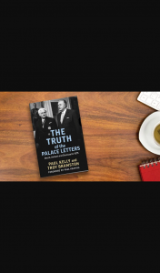 The Australian Plusrewards – Win a Signed Copy of The Truth of The Palace Letters (prize valued at $49.99)