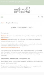 The Thoughtful Gift Company – Win a Voucher