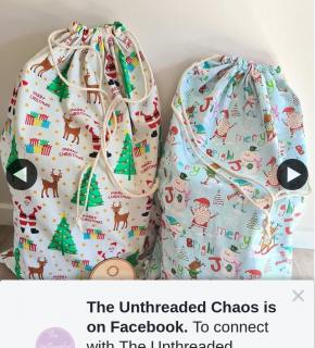 The Unthreaded Chaos – Win Santa Sacks