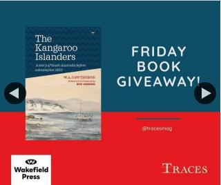 Traces magazine – Win a Copy of The Kangaroo Islanders
