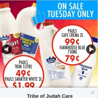 Tribe of Judah Care Services – Win a $100 In Store Gift Voucher