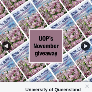 University of Queensland Press – Win One of Two Copies of Biting The Clouds