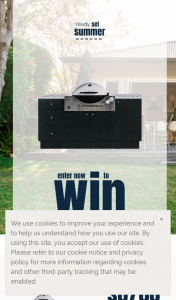 VerdeLife-Weber BBQ – Win a Sustainapod Outdoor Kitchen (byron) With Design Consultation & Weber Family Q Premium Built-Ins