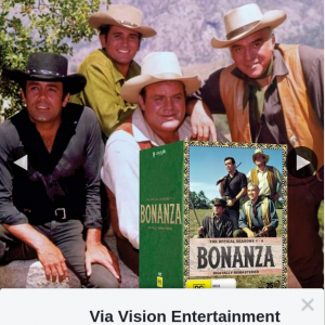 Via Vision Entertainment – Win a Copy of Bonanza Seasons 1-4 on DVD