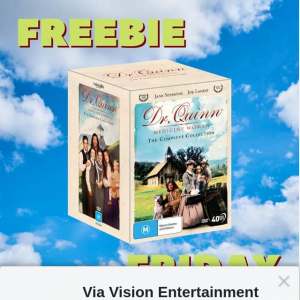 Via vision entertainment – Win a Copy of Dr Quinn Medicine Woman Complete Series on DVD
