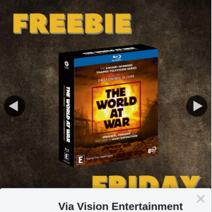 Via Vision Entertainment – Win a Copy of The World at War on Bluray