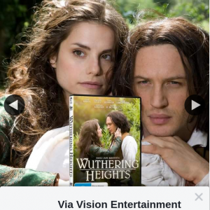Via Vision Entertainment – Win a Copy of Wuthering Heights DVD