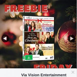 Via Vision Entertainment – Win The Hallmark Christmas Collection 11 on DVD