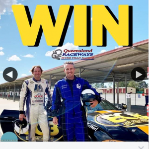 Weekender – Win an Incredible 6 Lap Mustang Race Experience at Queensland Raceways In The City of Ipswich