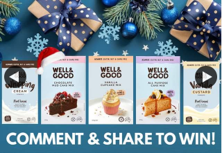 Well and Good – Win a Gluten Free Christmas Sample Pack Comment & Share