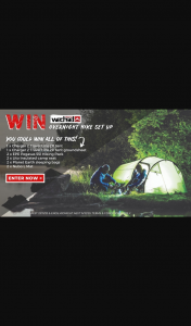 Wild Earth – Win an Overnight Hike Setup