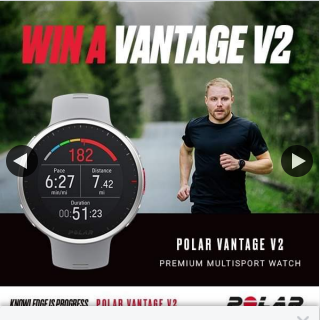 Wildfire Sports & Trek – Win a Newly Released Polar Vantage V2 Gps Multisport Watch (prize valued at $698)