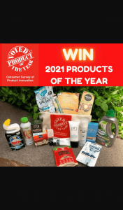 Win a Goodie Pack of Fab Products That Have Been Voted The Products of 2021.