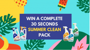 30seconds – Win 1 of 8 Summer Clean 30Seconds prize packs