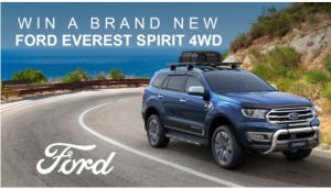 Channel Seven – Sunrise Ford – Win a Ford Everest Titanium Spirit 4WD plus accessories valued over $84,000