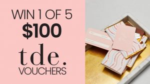 Channel Seven – Win 1 of 5 The Daily Edited (tde) vouchers valued at $100 each