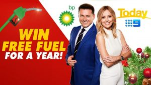 Nine Entertainment – Win 1 of 15 prizes of BP gift cards for free fuel for a Year valued at $3,500