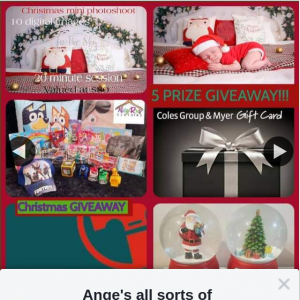 Ange's all sorts of bargains – Please Do The Following.. (prize valued at $130)