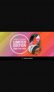 Audio-Technica Australia – Win a Pair of Wired Or Wireless M50x