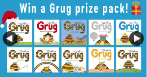 Better Reading Kids – Win a Grug Book Prize Pack