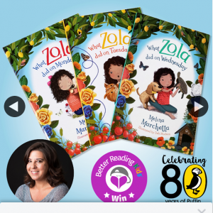 Better Reading Kids – Win a Pack From The What Zola Did Series