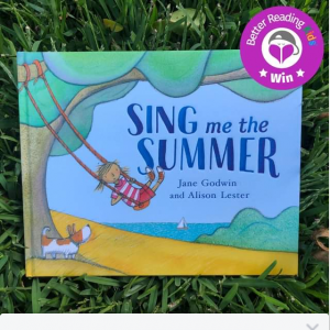 Better Reading Kids – Win One of Five Copies of Sing Me The Summer