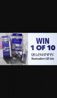 Channel 7 – Sunrise – Win 1 of 10 Dr Lewinn's Reversaderm Anti Ageing Gift Sets