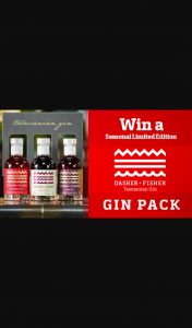 Channel 7 – Sunrise – Win Dasher and Fisher's Seasonal Limited Edition Gin Set (prize valued at $425)