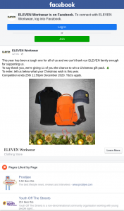 Eleven Workwear – Win a Christmas Gift Pack
