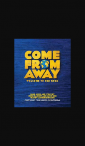 Female – Win One of 2 X Double Passes to Come From Away Melbourne on 20th January (prize valued at $120)