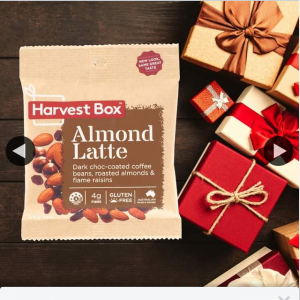 Harvest Box – Win a Whole Box of Our Almond Latte Mix