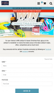 Jan Sport – Win Our Jansport Aussie Christmas Pack Valued Over $380. (prize valued at $380)