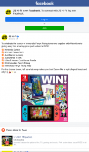 JB HiFi – Win a Nintendo Switch Prize Pack (prize valued at $760)