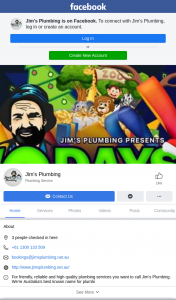 Jim's Plumbing – a Day Out at Your Local Waterpark (prize valued at $1,000)
