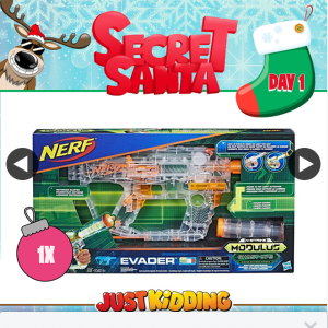 Just Kidding – Win Secret Santa Christmas Giveaways (prize valued at $48)