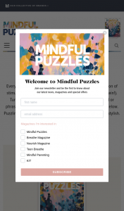 Lovatts MINDFUL PUZZLES Solve & – These Prizes (prize valued at $1,059)