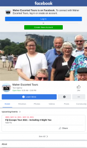 Maher Escorted Tours – Win The Trip of a Lifetime Request Brochure (prize valued at $5,000)