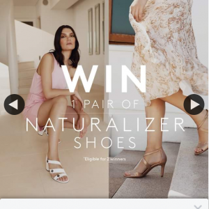 Naturalizer Australia – Win Tag Three Friends Below and Share this Post (prize valued at $180)