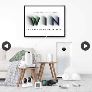 Panmi – Win The Ultimate #smarthome Pack Valued at $1856 (prize valued at $1,856)
