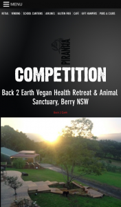 Piranha – Win a Weekend Getaway for 2 at Back 2 Earth Retreat Berry Nsw