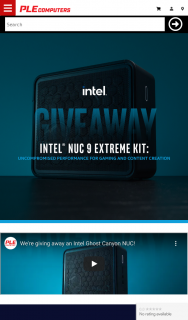 PLE Computers – Win an Intel Ghost Canyon Nuc Worth $2949