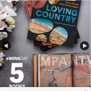 QBD Books – Win One of Five Copies of Loving Country a Guide to Sacred Australia