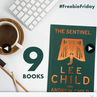 QBD Books – Win One of Nine Copies of The Sentinel By Lee Child