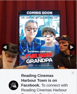Reading Cinemas Harbour Town – Win a Double Pass to The War With GranDouble Passa
