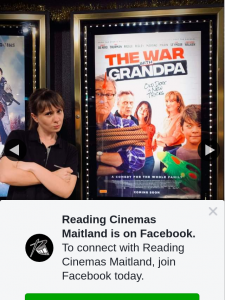 Reading Cinemas Maitland – Win a Double Pass to The War With GranDouble Passa