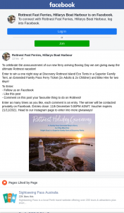Rottnest Fast Ferries – Win a One Night Stay at Discovery Rottnest Island Eco Tents In a Superior Family Tent